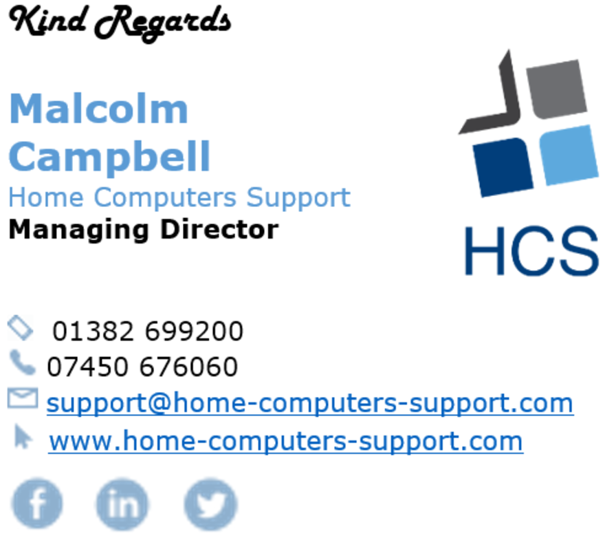 Home & Business Computers Support
